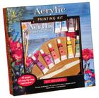 Acrylic Painting Kit: Professional materials and step-by-step instruction for the aspiring artist (Walter Foster Painting Kits) Cover Image