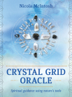 Crystal Grid Oracle: Spritual Guidance Using Nature's Tools (Rockpool Oracle Card Series) Cover Image