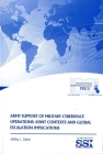 Army Support of Military Cyberspace Operations: Joint Contexts and Global Escalation Implications Cover Image