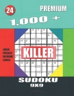 1,000 + Premium sudoku killer 9x9: Logic puzzles extreme levels Cover Image