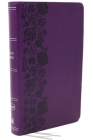 Nkjv, Reference Bible, Personal Size Large Print, Leathersoft, Purple, Red Letter Edition, Comfort Print: Holy Bible, New King James Version Cover Image