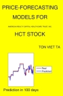 Price-Forecasting Models for American Realty Capital Healthcare Trust, Inc. HCT Stock Cover Image