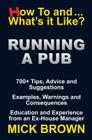 Running a Pub (How to...and What's it Like?) Cover Image