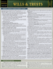 Wills & Trusts: A Quickstudy Laminated Law Reference & Bar Exam Study Guide Cover Image