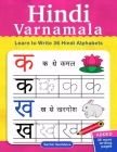 Hindi Varnamala: Learn to Write 36 Hindi Alphabets for Kids (Ages 3-5) Cover Image