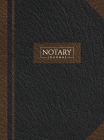 Notary Journal: Hardbound Record Book Logbook for Notarial Acts, 390 Entries, 8.5