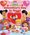 Fisher-Price Little People: Valentine's Day Is Here! (Lift-the-Flap) Cover Image