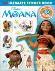 Ultimate Sticker Book: Disney Moana Cover Image