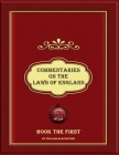 Commentaries on the Laws of England: Book the First Cover Image