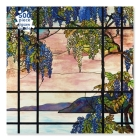 Adult Jigsaw Puzzle Tiffany Studios: View of Oyster Bay (500 pieces): 500-piece Jigsaw Puzzles Cover Image
