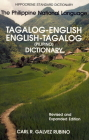 Tagalog-English/English-Tagalog Standard Dictionary Cover Image