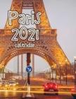 Paris 2021 Calendar Cover Image