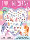Puffy Stickers I Love Unicorns Cover Image