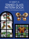 Stained Glass Pattern Book (Dover Pictorial Archives) Cover Image