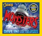 Monsters of the Deep [With 3-D Action Cards] Cover Image