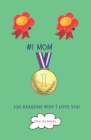 #1 Mom: Mom gifts under 10 - Paperback book Cover Image