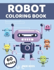Robot Coloring Book For Kids Cover Image