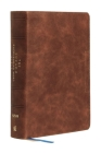 Niv, Lucado Encouraging Word Bible, Brown, Leathersoft, Comfort Print: Holy Bible, New International Version Cover Image