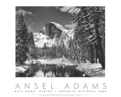 Half Dome, Merced River, Winter, Yosemite National Park Cover Image