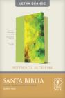 Santa Biblia Ntv, Edición de Referencia Ultrafina, Letra Grande (Letra Roja, Sentipiel, Verde) Cover Image