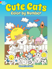 Cute Cats Color by Number (Dover Coloring Books) Cover Image