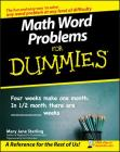 Math Word Problems for Dummies Cover Image
