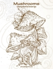 Mushrooms Coloring Book for Grown-Ups 1 Cover Image
