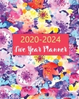 2020-2024 Five Year Planner: 60 Months Calendar Monthly Agenda, 5 Year Appoitment For The Next Five Years, Monthly Planner Organizer with Holidays Cover Image
