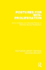 Postures for Non-Proliferation: Arms Limitation and Security Policies to Minimize Nuclear Proliferation Cover Image