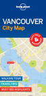 Lonely Planet Vancouver City Map Cover Image
