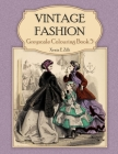 Vintage Fashion: Greyscale Colouring Book 5 Cover Image