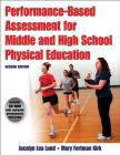 Performance-Based Assessment for Middle and High School Physical Education [With CDROM] Cover Image