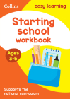 Starting School Workbook: Ages 3-5 (Collins Easy Learning Preschool) Cover Image