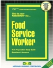 Food Service Worker: Passbooks Study Guide (Career Examination Series) Cover Image