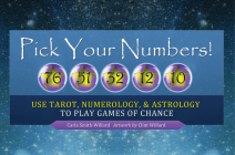 Pick Your Numbers!: Use Tarot, Numerology, and Astrology to Play Games of Chance Cover Image