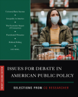 Issues for Debate in American Public Policy: Selections from CQ Researcher Cover Image