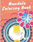Mandala Coloring Book: Mandala Coloring Therophy Cover Image