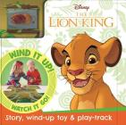 Disney The Lion King: Busy Board with Wind-Up Car & Track Cover Image