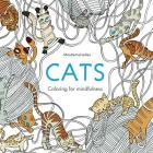 Cats Coloring for Mindfulness Cover Image