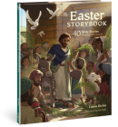 The Easter Storybook: 40 Bible Stories Showing Who Jesus Is (Bible Storybook Series) Cover Image