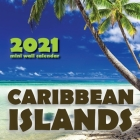 Caribbean Islands 2021 Mini Wall Calendar Cover Image