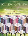 String Quilts: 11 Fun Patterns for Innovating and Renovating Cover Image