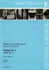 Waltz No. 2: Arranged for Solo Piano Cover Image