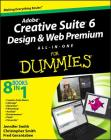 Adobe Creative Suite 6 Design and Web Premium All-In-One for Dummies Cover Image