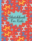 Sketchbook for Kids: Practice Drawing Sketching, Writing and Creative Doodling (Colorful Dog Balloon Design) Cover Image