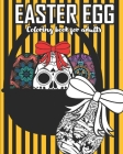 Easter egg coloring book for adults: zombie coloring book Cover Image