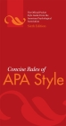 Concise Rules of APA Style (Concise Rules of the American Psychological Association (APA) Style) Cover Image