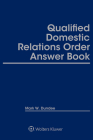 Qualified Domestic Relations Order (Qdro) Answer Book Cover Image