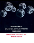 Foundations of Statistical Natural Language Processing Cover Image