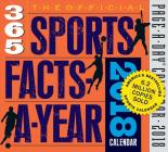 The Official 365 Sports Facts-A-Year Page-A-Day Calendar 2018 Cover Image